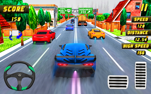Car Racing in Fast Highway Traffic 2.1 screenshots 7