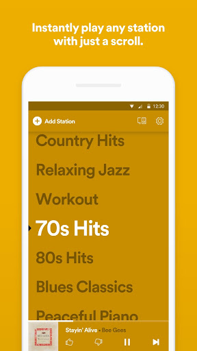 Spotify Stations: Streaming radio & music stations 0.2.99.90 Screenshots 1