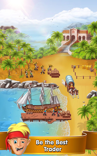 Pocket Ships Tap Tycoon: Idle Seaport Clicker apkpoly screenshots 8