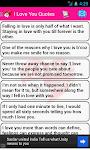 screenshot of Love Messages