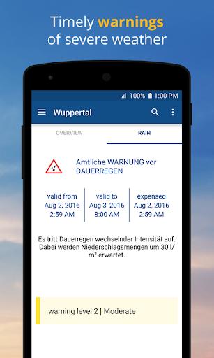 wetter.com - Weather and Radar 2.43.5 Screenshots 6