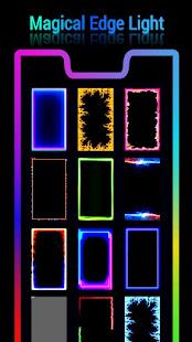 Edge Lighting Pro - Border light & Hd wallpaper 1.0 APK + Mod (Unlimited money) إلى عن على ذكري المظهر