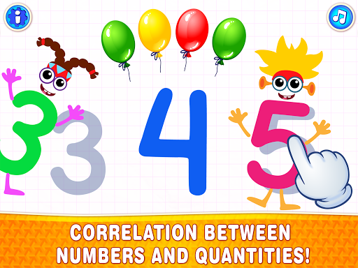 Learning numbers for kids! Writing Counting Games! apkslow screenshots 11