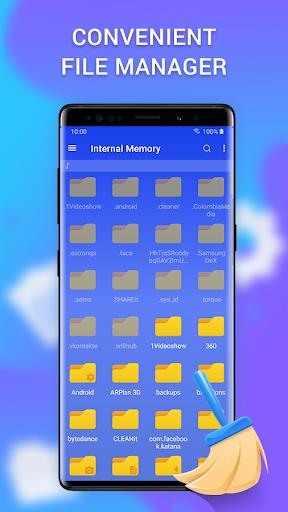Cleaner - clean the phone, memory, cache & booster apktram screenshots 6