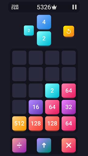 2048: Drop And Merge 1.3 screenshots 3