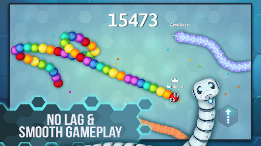 Snake.io - Fun Addicting Arcade Battle .io Games  screenshots 2