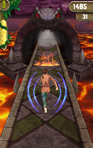 Scary Temple Final Run Lost Princess Running Game 4.2 screenshots 2