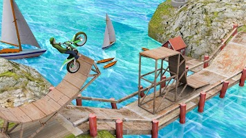 Bike Stunt Racing Games 3d: Trial Bike Game