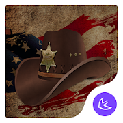 American Cowboy Style theme & HD wallpapers
