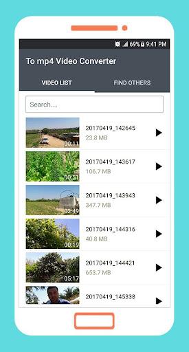 To mp4 3gp webm Video Converter app apktram screenshots 1