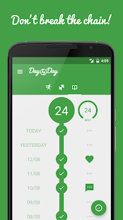 Day by Day • New Year's Resolutions, Habit Tracker