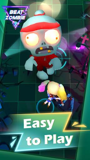 Beat Zombie : Rhythm Shooting apkslow screenshots 3