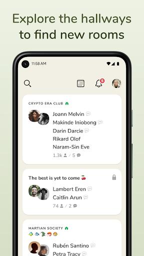 Clubhouse: The Social Audio App apkdebit screenshots 2