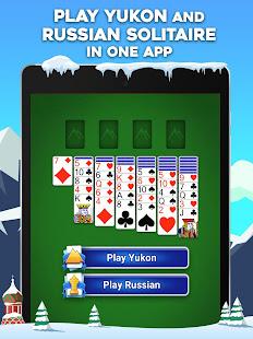 Yukon Russian – Classic Solitaire Challenge Game