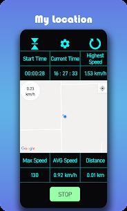 Speedometer – Car distance tracker or speed meter Apk 4