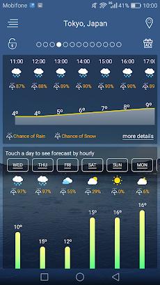 天気予報のおすすめ画像2