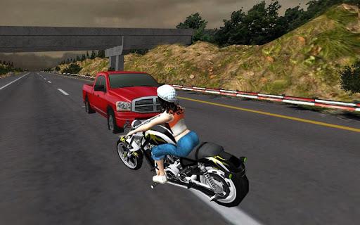 Racing Girl 3D apktreat screenshots 2