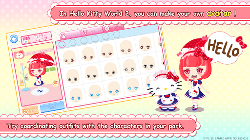 Hello Kitty World 2 Sanrio Kawaii Theme Park Game 4.0.1 screenshots 3