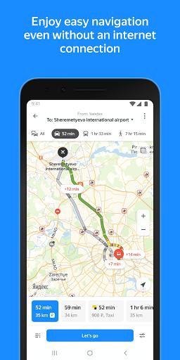 Yandex.Maps u2013 Transport, Navigation, City Guide android2mod screenshots 2