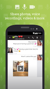 SMS from Android 4.4 with Caller ID 2