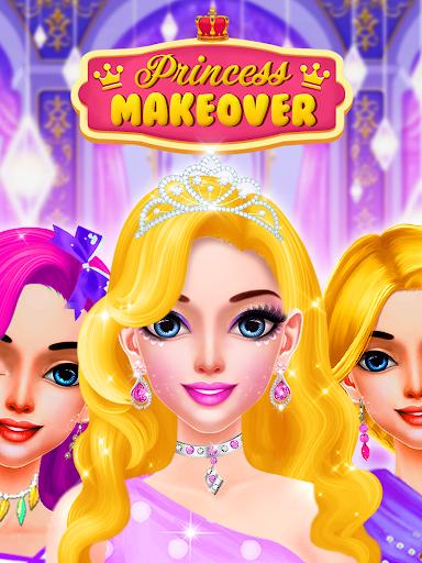Pink Princess Makeover & Dress Up : MakeUp Salon 2.0 screenshots 1