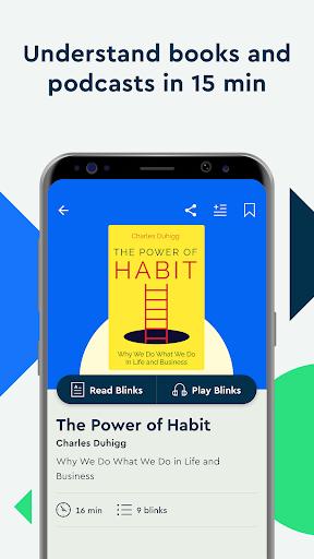 Blinkist: Key Book Insightu202as android2mod screenshots 2