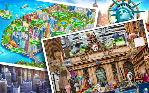Hidden Objects New York City Puzzle Object Game  screenshots 6