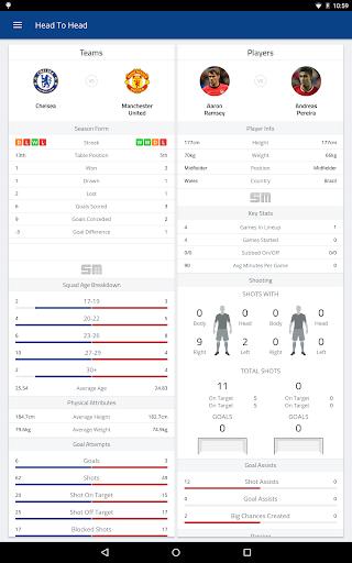 EPL Live: English Premier League scores and stats  Screenshots 14