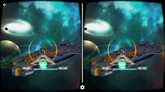 Deep Space Battle VR Screenshot