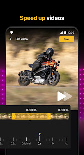 Slow motion - Speed up video - Speed motion 1.0.64 Screenshots 3