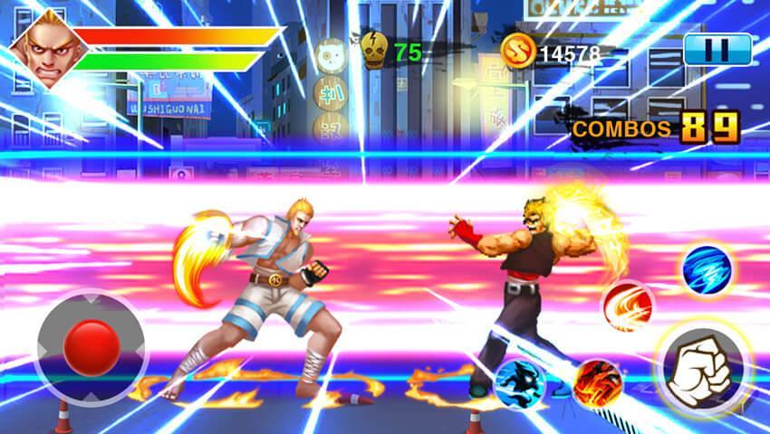 Screenshot 4 de Street Fighting 4 para android