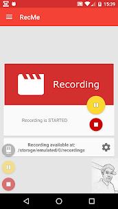 RecMe Screen Recorder Pro v2.6.0 MOD APK 1