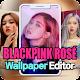 BLACKPINK 로제 HD 라이브 배경화면 - Rose 퍼즐게임 사진편집기 per PC Windows
