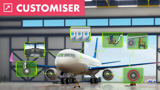 Code Triche Airport City APK Mod screenshots 1