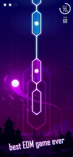 Code Triche Magic Dot - Dancing Line (Astuce) APK MOD screenshots 1