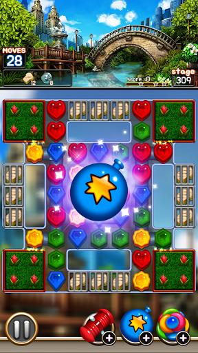 Jewel Royal Garden: Match 3 gem blast puzzle 1.0.1 screenshots 3