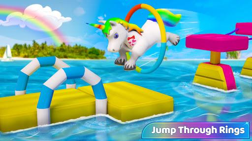 Baby Unicorn Wild Life: Pony Horse Simulator Games 1.2.5 screenshots 2