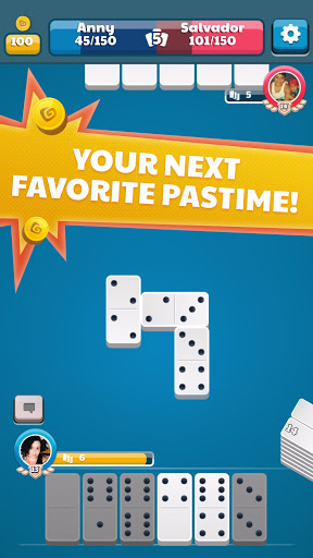 Dominoes Battle: Classic Dominos Online Free Game  screenshots 1