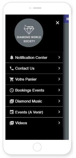 Diamond World Society Corp screenshot 2