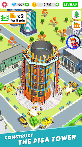Idle Construction 3D screenshots 6