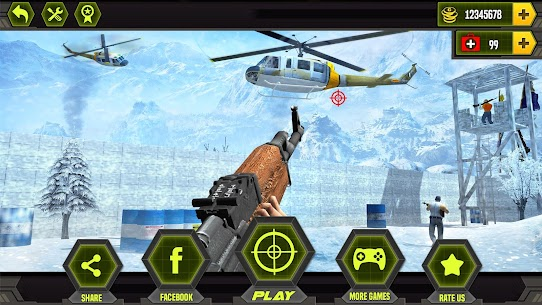 Anti-Terrorist Shooting Mission 2021 Mod Apk (Dumb Enemy) 8