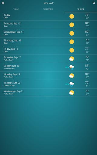 Weather  screenshots 12