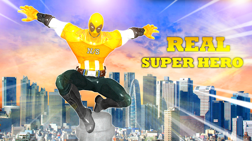 US Captain Hero: Miami rope hero rescue city games hack tool
