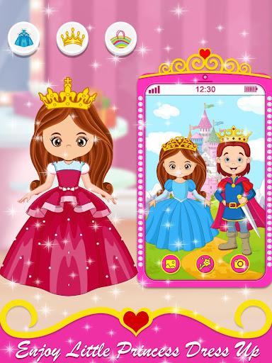 Baby Princess Phone - Princess Baby Phone Games 1.0.3 Screenshots 3