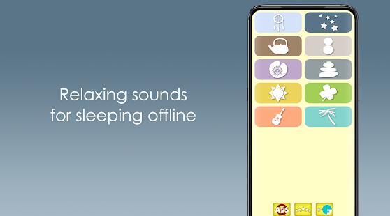 Relaxing sounds for sleeping offline