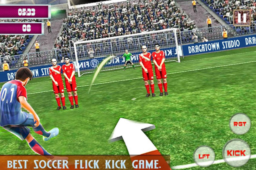 Code Triche Football Strike World Free Flick League Games APK MOD (Astuce) screenshots 1