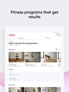 Sweat: Fitness App For Women screenshots 10