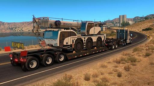Euro Truck Boat Cargo Driving Simulator 2020  screenshots 3