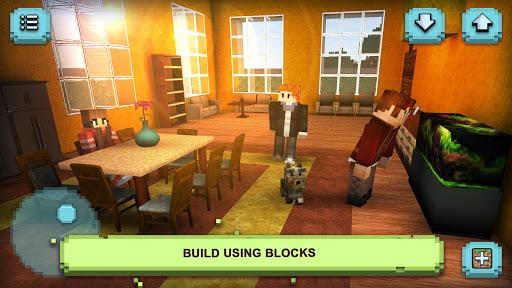 Dream House Craft: Design & Block Building Games 1.16-minApi23 Screenshots 8