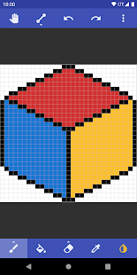 Pixel art and texture editor